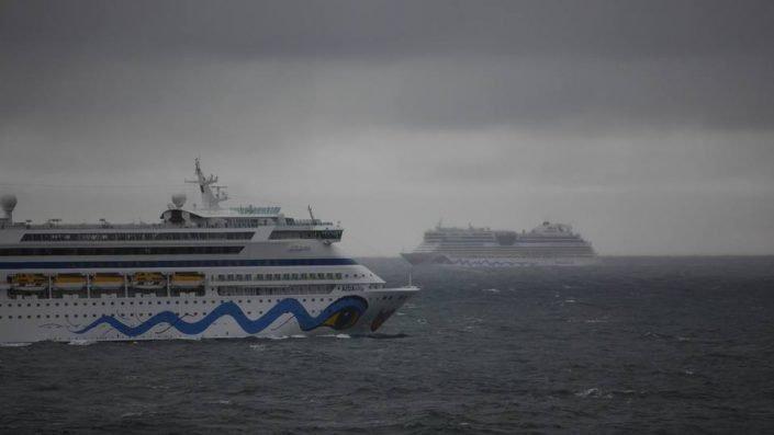 AIDAvita auf Seefahrt