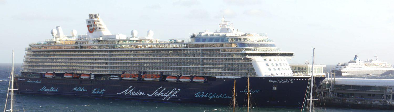 Mein Schiff 3 im Hafen